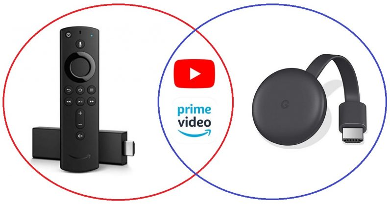 Official YouTube app on Fire TV and Casting support for Prime Video