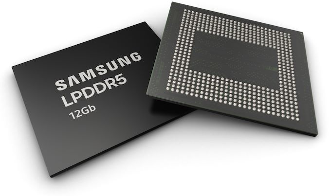 Samsung Started Mass Production of 12GB LPDDR5 Mobile DRAM