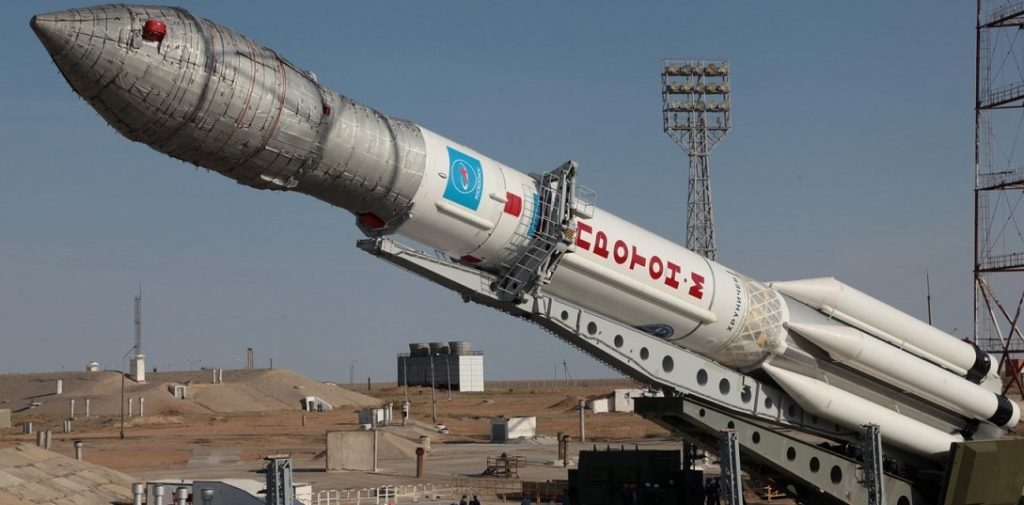 Russian Proton-M Rocket Is Launched Saturday