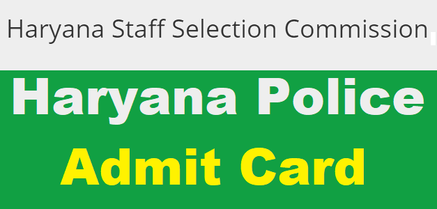 Haryana Constable and Sub Inspector Admit Card 2019 To Be Released Soon at www.hssc.gov.in