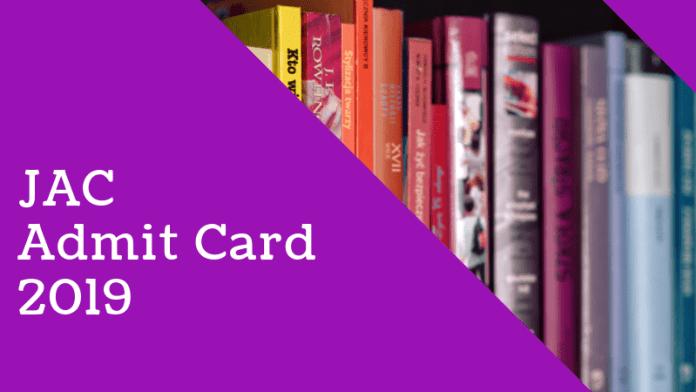 jac admit card