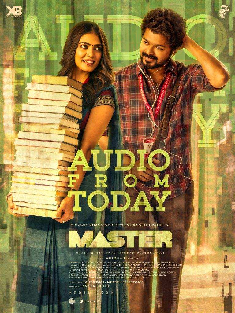 Master Audio Launch: Date