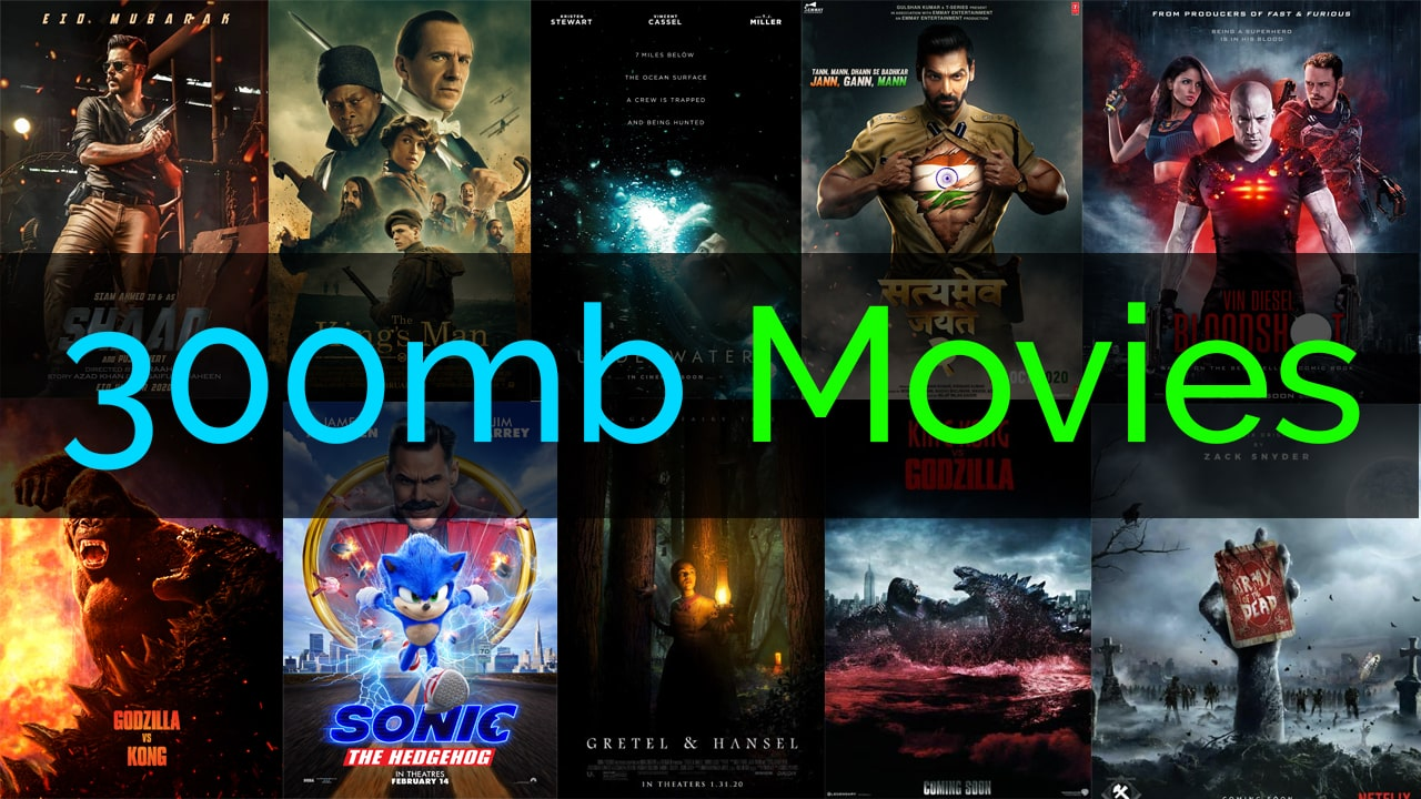300mbmovies4u Website 2021 - All 300 MB Movies Download online - is it safe?