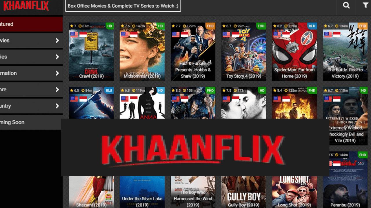 Khaanflix 2021 Website - Watch Latest TV Shows & Movies Online - is it safe?