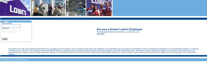 MyLowesLife Login at www.myloweslife.com - Lowes Employee Portal