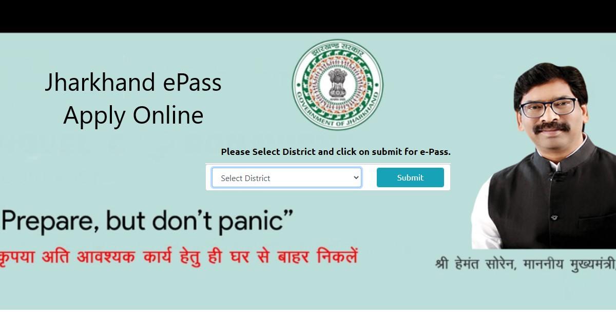 Jharkhand E Pass