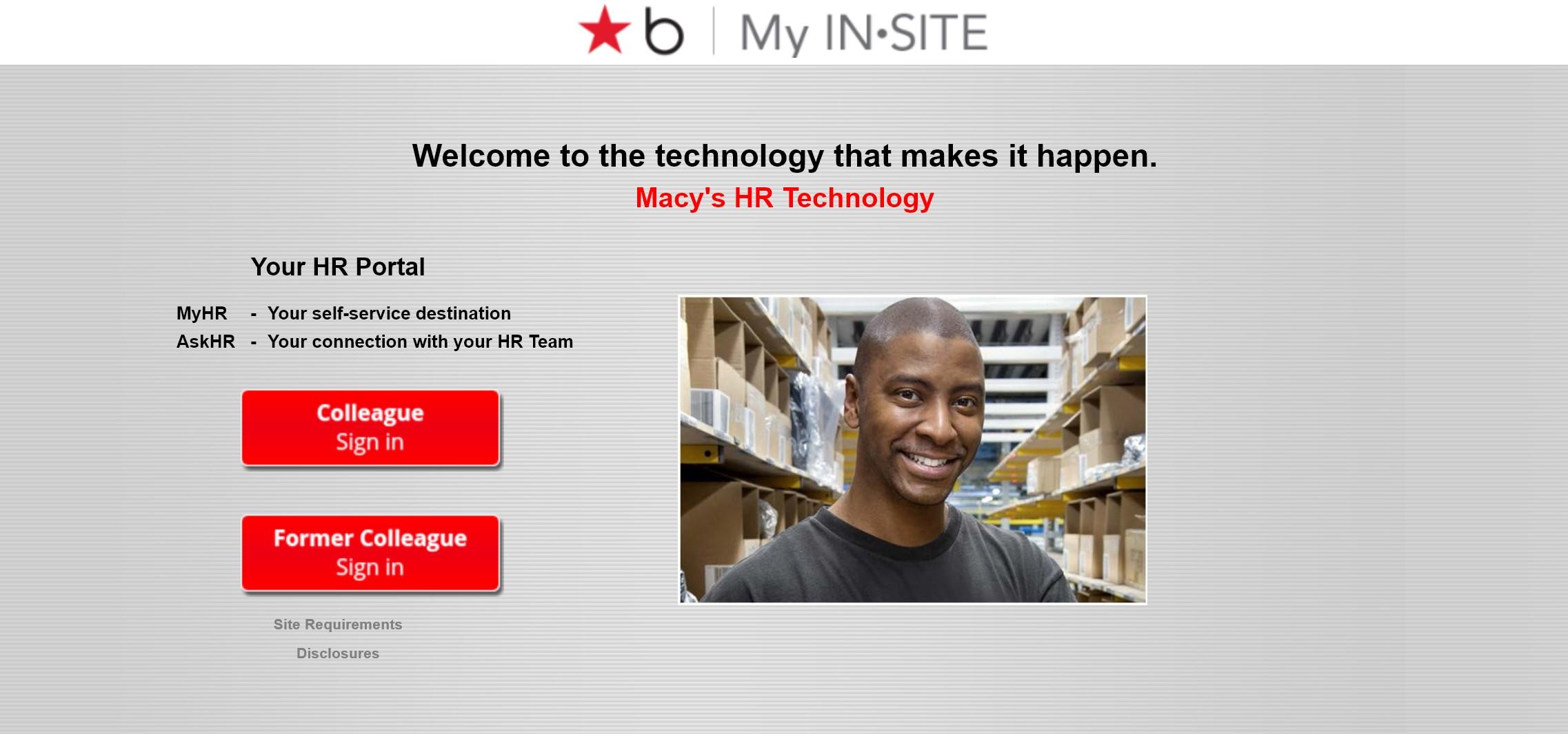 Macy's Insite: Macy's Employee Connection Login - www.Macysinsite.com