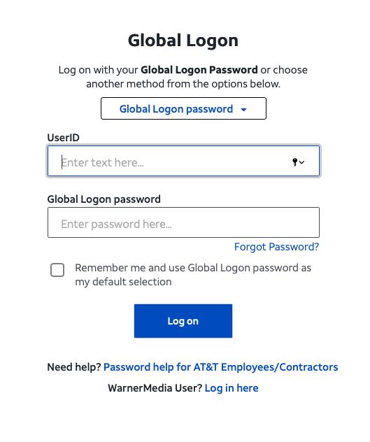Mycsp Global Logon Password Option