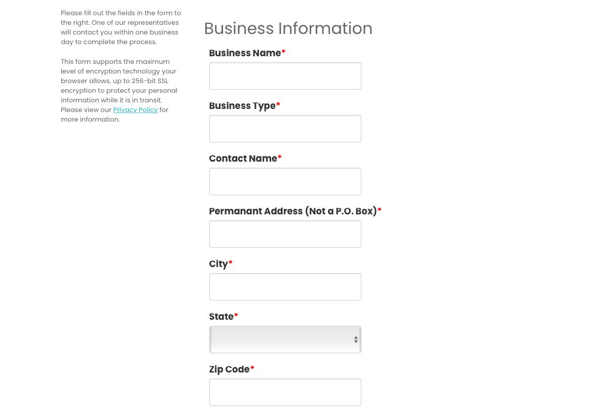 Pathfinder Bank business account enrolment