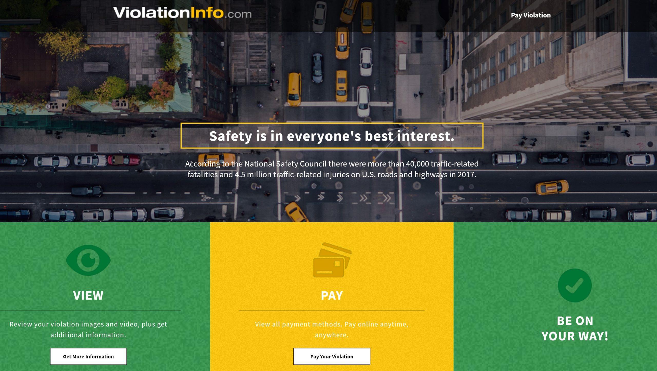Drivesafelyinnassau - Pay Violation Bill at www.violationinfo.com