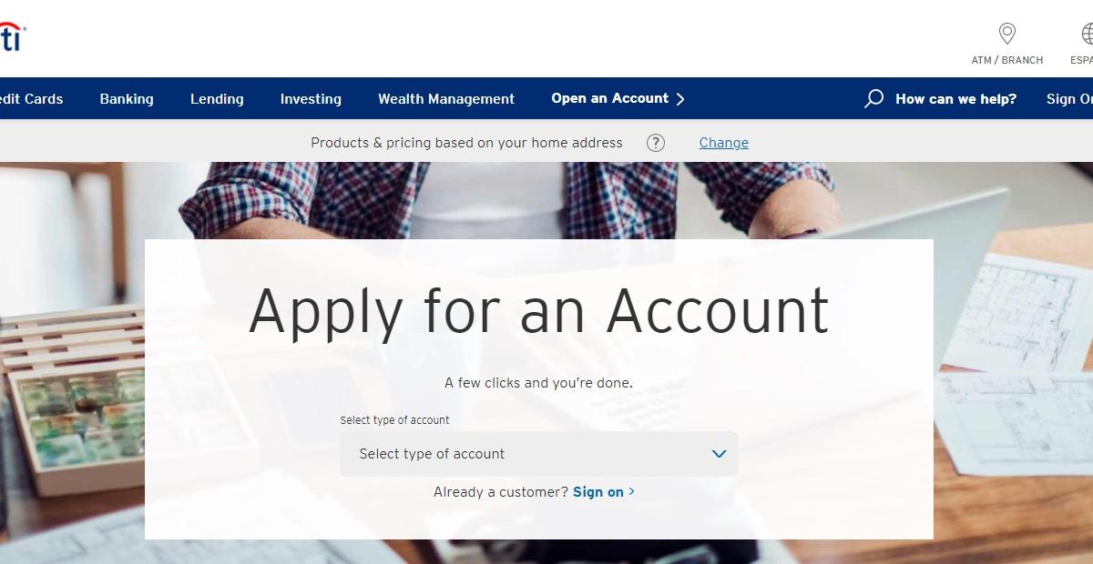 Citi Bank Credit Card Apply Online at www.citi.com - Activate Citi Credit Card
