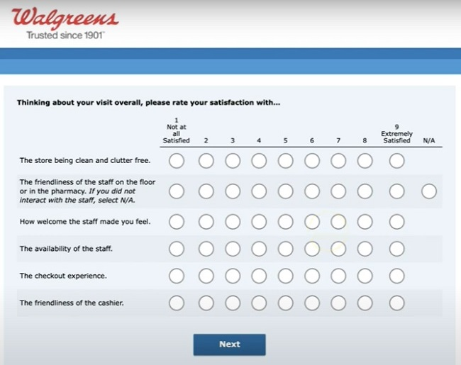WalgreensListens Survey At www.WalgreensListens.com - Win $3000 Cash Prize