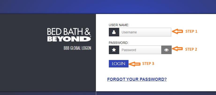 Myhr Bed Bath and Beyond Login At idpint.bedbath.com