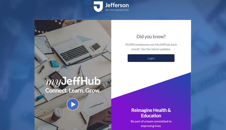 Myhr Jefferson at myhr.jefferson.edu - my jeff hub