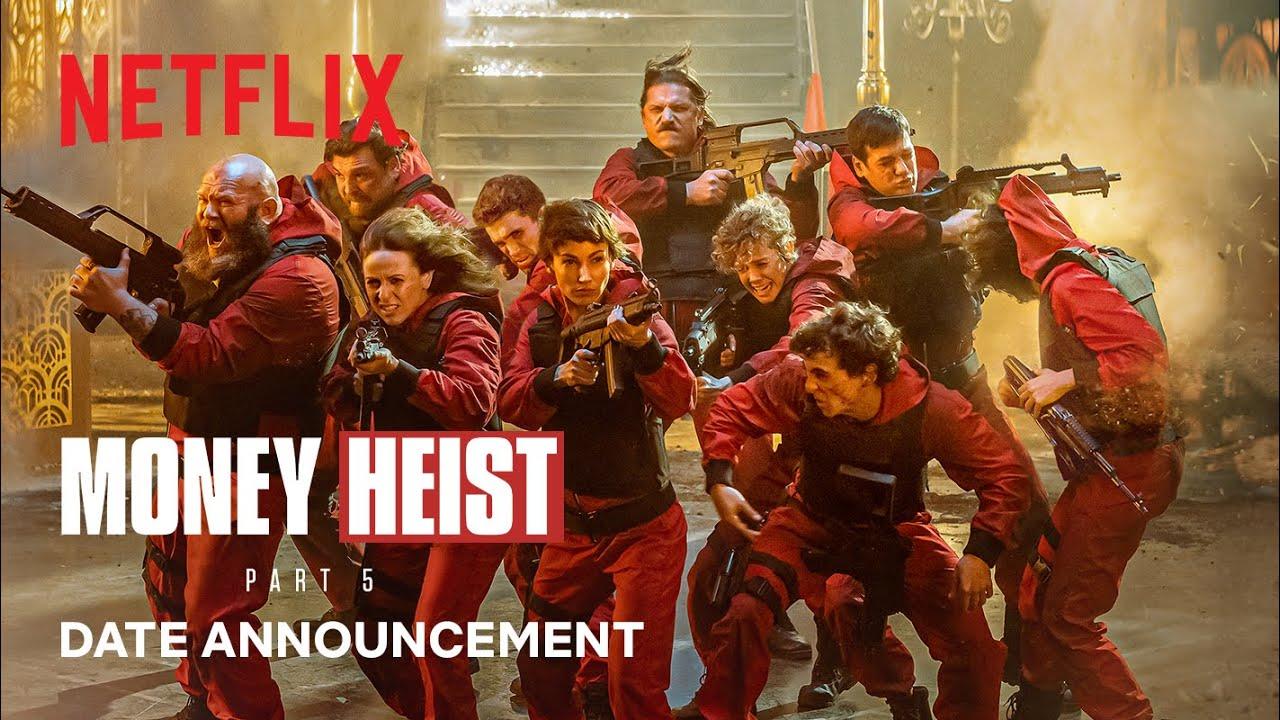 Mario de la Rosa Reveal 'Money Heist' Season 5 Release Date – Official Trailer