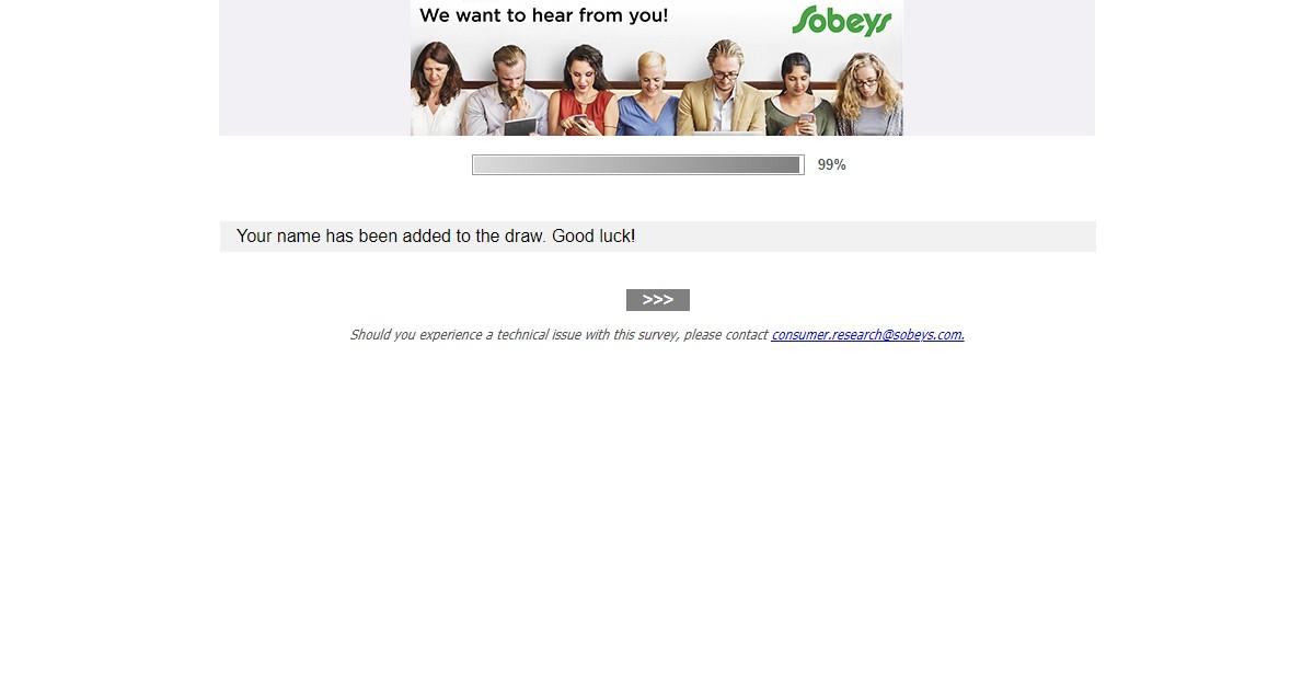 www.Sobeys.com/mysobeys - Sobeys Grocery Survey - Win $500 Gift Card