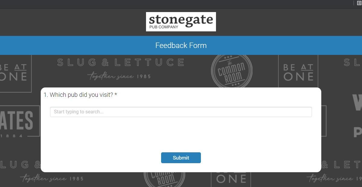 www.ratemyyates.co.uk - Yates Customer Feedback Survey