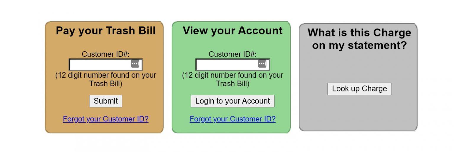 www.TrashBilling.com Online Payment - Pay your Trash Bills Online
