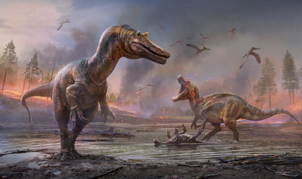 'Hell heron' New dinosaurs discovered on Isle of Wight,