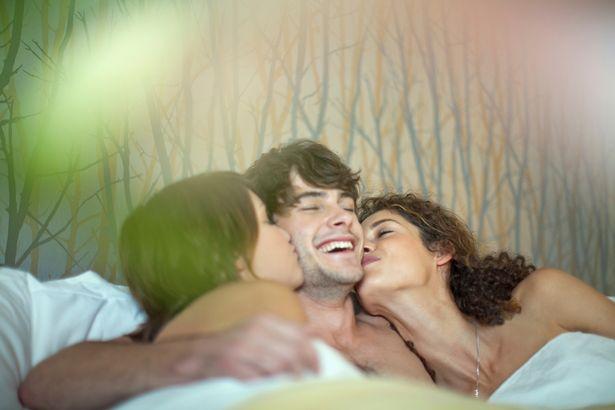 Couples cuddling
