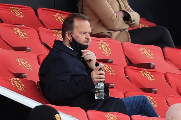 Manchester United Chief Executive Ed Woodward looks on during the Barclays FA Women's Super League match between Manchester United Women and West Ham United Women