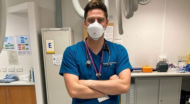 Dr Alex George has gone back to his old job after Love Island