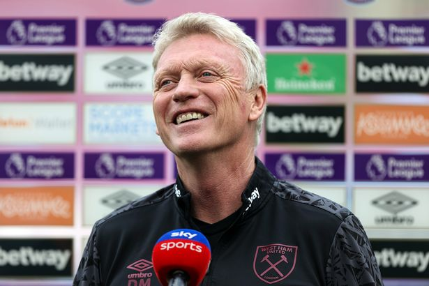 David Moyes ahead of the Premier League match between West Ham United and Everton
