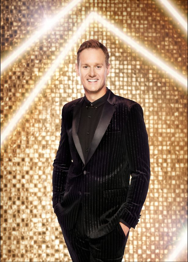 Dan Walker injured his head while he was training for the live Strictly shows