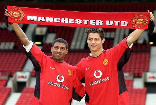 Kleberson arrived at United the same day as Cristiano Ronaldo - but the World Cup winner was plighted by injury and retired four years ago
