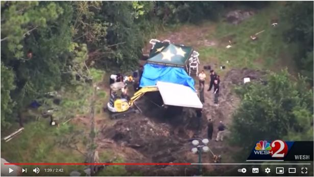The Rivera home backyard dug up to find Nicole Montalvo's body