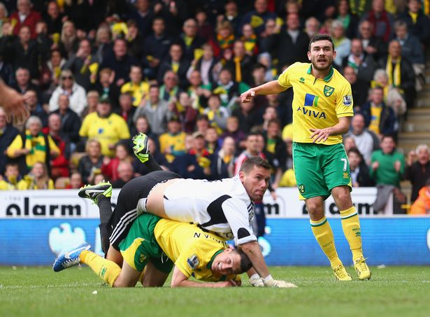 West Brom keeper Ben Foster had a nightmare against Norwich