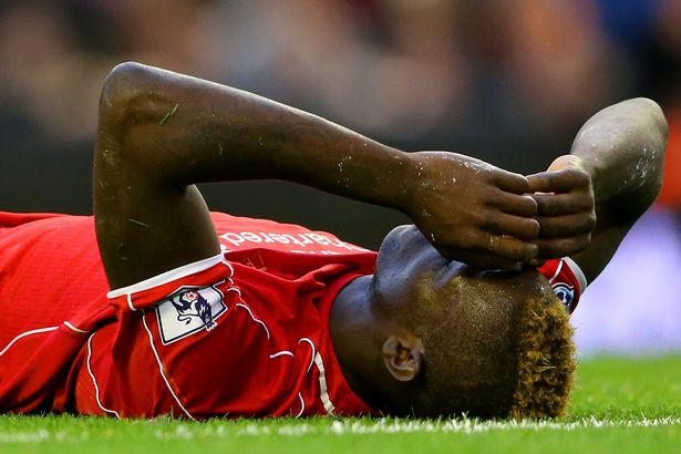 Mario Balotelli didn't do himself any favours with his miss