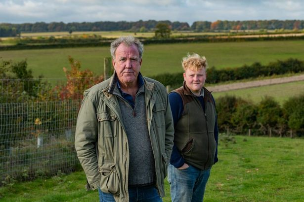 Jeremy Clarkson and Kaleb Cooper