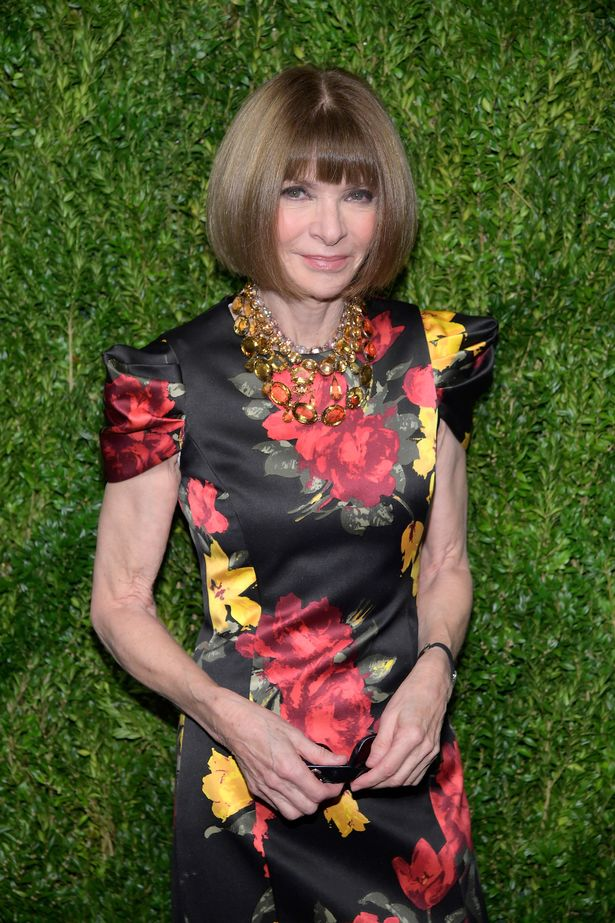 There had been rumours that Emma had bumped into Vogue's Editor-in-Chief Anna Wintour on her flight home