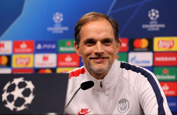 Head coach Thomas Tuchel during the press conference of Paris Saint-Germain ahead of their UEFA Champions League round of 16 match between Borussia Dortmund and Paris Saint-Germain (PSG) at Signal Iduna Park on February 17, 2020 in Dortmund, Germany.