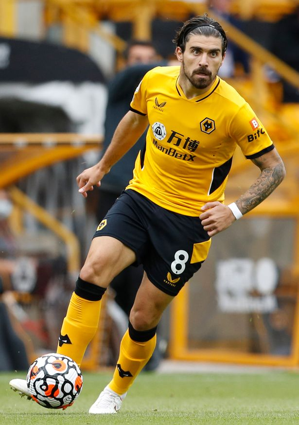 Wolverhampton, England, 29th August 2021. Ruben Neves of Wolverhampton Wanderers during the Premier League match at Molineux, Wolverhampton. Picture credit should read: Darren Staples / Sportimage via PA Images