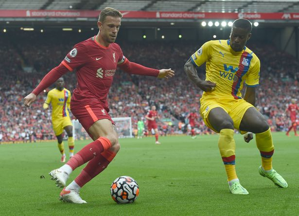 Jordan Henderson returned to the starting line-up, having began last week's contest against Leeds United on the bench