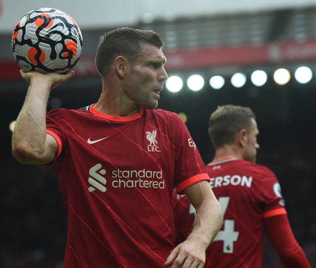 James Milner covered for the ill Trent Alexander-Arnold perfectly