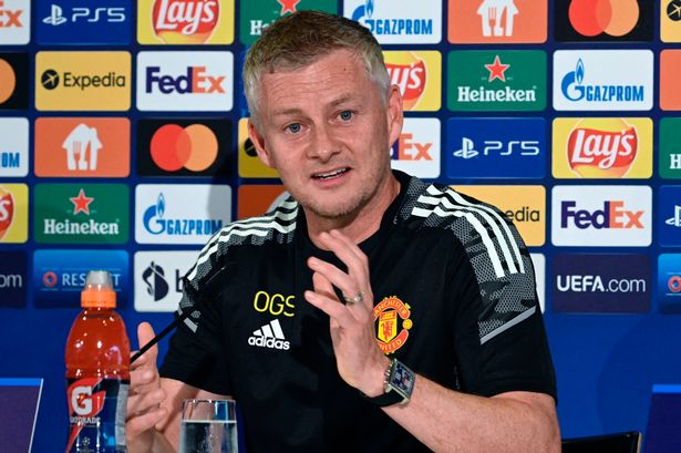 Manchester Uniteds Norwegian coach Ole Gunnar Solskjaer gives a press conference on the eve of the UEFA Champions League Group F football match between Young Boys and Manchester United in Bern, on September 13, 2021.