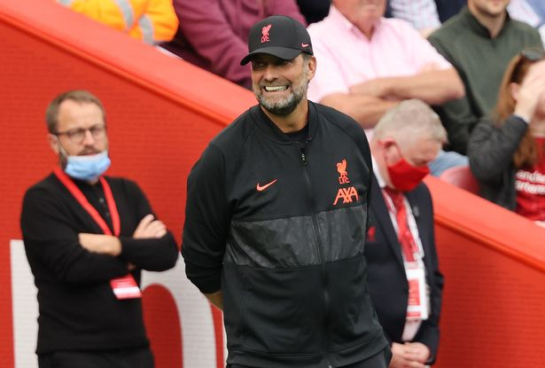 Klopp was all smiles after Liverpool's comfortable 3-0 win over Crystal Palace