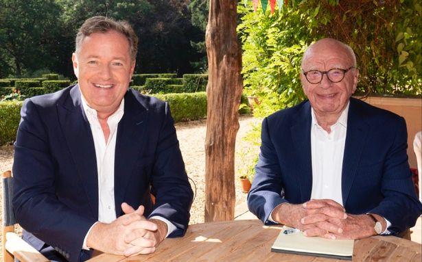 Piers Morgan and Rupert Murdoch