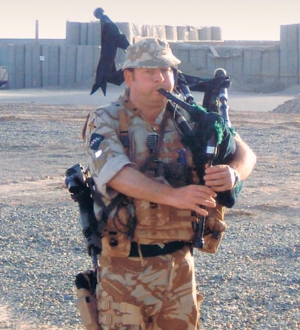 Methven landed the role after returning from his second tour of Afghanistan