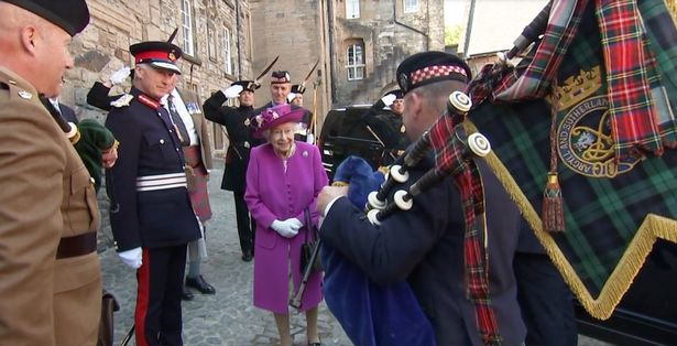 Methven was a sovereign piper for the Queen for around four years