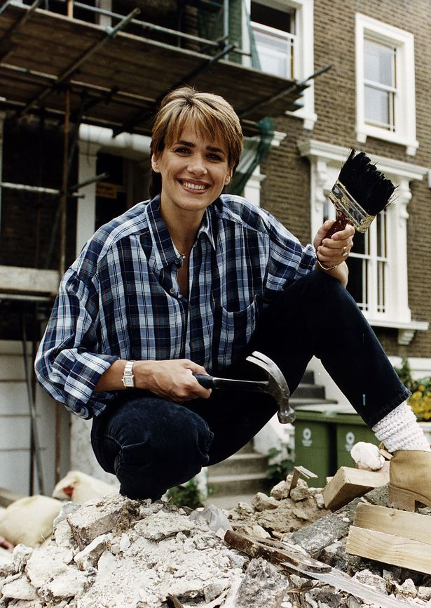 Carol Smillie presenter of the television programme Changing Rooms