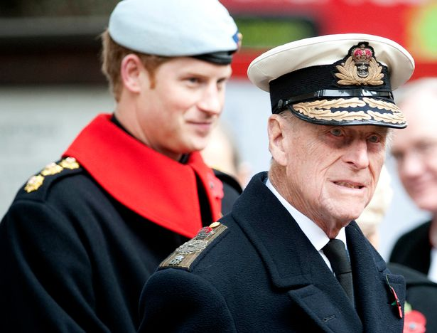 The Duke of Sussex also said his grandfather allowed him to speak about his time in the military 'without probing'