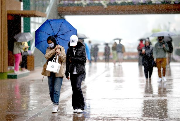 UK Weather: Met Office forecast reveals exactly when torrential rain will hit your area