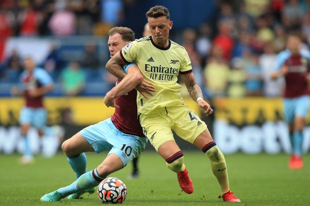 The questions come after Ben White's challenging afternoon at Burnley