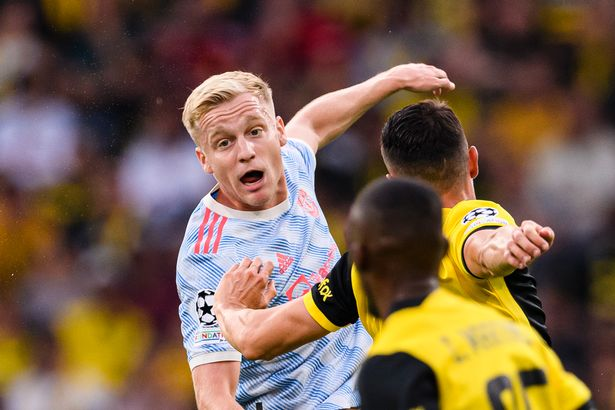 Donny van de Beek is one of the players at risk of being moved on