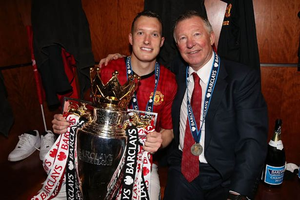 Phil Jones was highly rated by Sir Alex Ferguson
