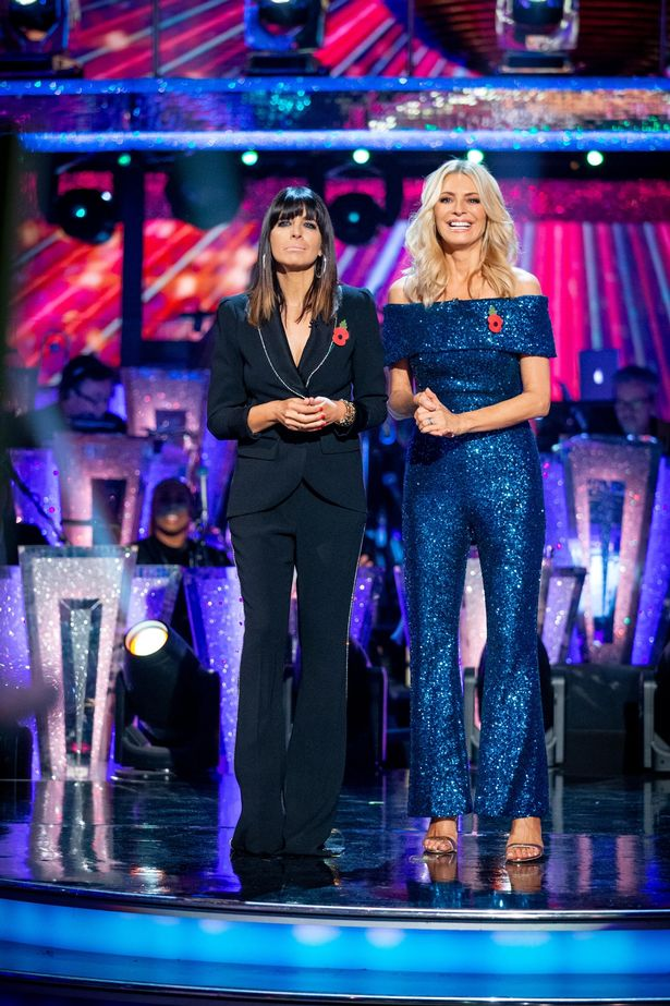 Strictly fans are used to seeing Tess and Claudia stood closer, like in 2019